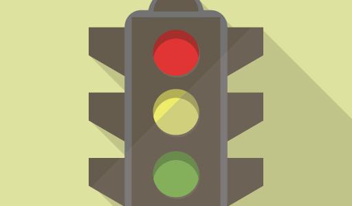 信号無視する男と警察官|いじわる・ひっかけ問題