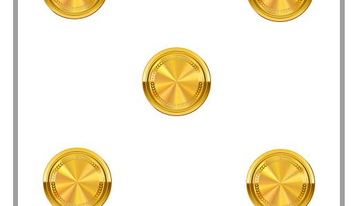 5枚のコイン|脳トレ・頭の体操