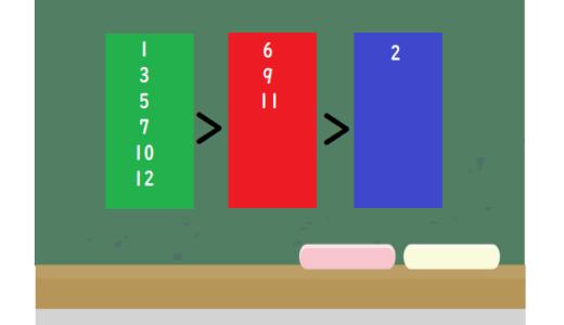 数字のグループわけ|おかしな数字クイズ